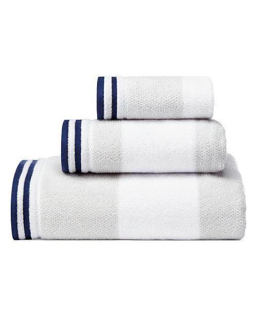 Nautica Santee Grey 3-Pc. Towel Set