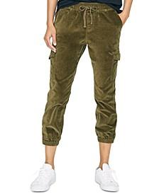 Mia Trooper Cargo Jogger Pants