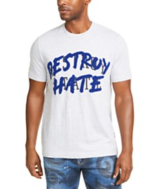 Sean John Men's Destroy Hate Graphic T-Shirt