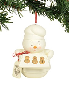 Snowpinions Life Is What You Bake It Ornament
