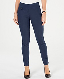 Curvy Pull-On Skinny Pants, Created for Macy's