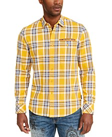 Men's Twill Flannel Plaid Shirt