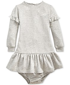 46e13e83 Baby Girl (0-24 Months) Ralph Lauren Kids Clothing - Macy's