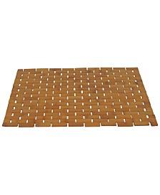 Redmon Bamboo Spa Style Shower Mat