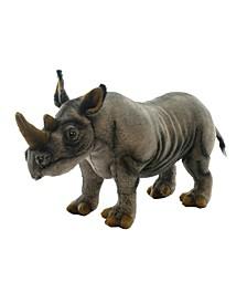 "18"" Rhino Plush Toy"