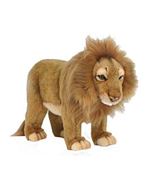 Standing Male Lion Plush Toy