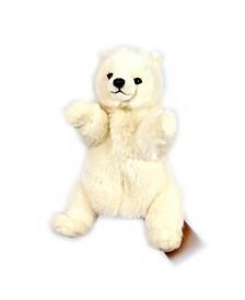 Polar Bear Hand Puppet Plush Toy
