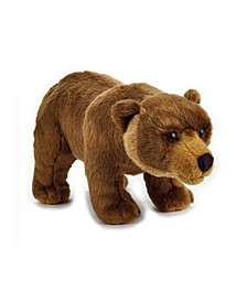 Lelly National Geographic Grizzly Bear Basic Plush Toy