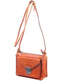 Moon Valley Leather Crossbody Bag