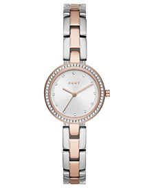 Women's City Link Two-Tone Stainless Steel Bracelet Watch 26mm