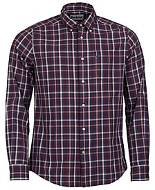 Men's Tailored-Fit Country Check 2 Shirt