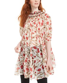 Free People Keeping Up With Kara Tunic Top