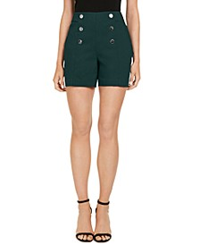 INC High-Waist Sailor Shorts, Created for Macy's