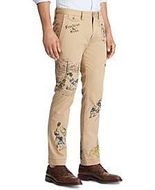 Men's Stretch Twill Flat Pants