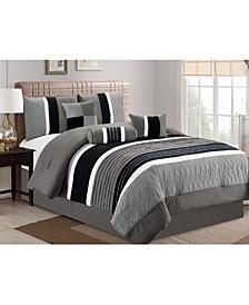 Washington 7 Piece Comforter Set, Cal King
