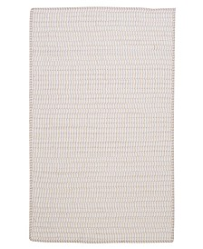 Colonial Mills Ticking Stripe Rect Canvas 2' x 4' Accent Rug