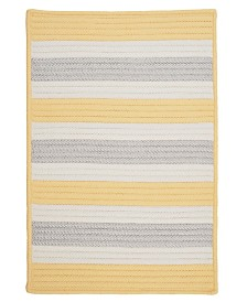 Colonial Mills Stripe It Yellow Shimmer 2' x 4' Accent Rug
