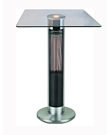 Infrared Electric Outdoor Heater - Bistro Table with LED