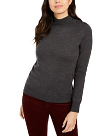 Charter Club Merino Wool Turtleneck, Created for Macy's