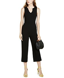 Moscato Sleeveless Cropped Jumpsuit
