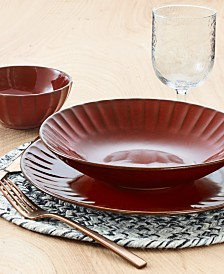 Lucky Brand Paprika Dinnerware Collection