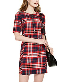 Truett Plaid Sheath Dress