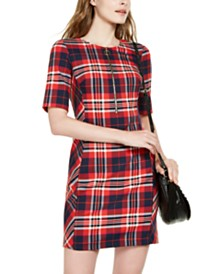 Trina Turk Truett Plaid Sheath Dress