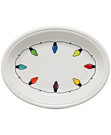 "Lights 11.625"" Oval Platter"