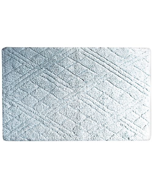 "Butterfly Home Fashions Cotton 27"" x 45"" Bath Rug"