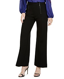Knit Wide-Leg Pants, Created For Macy's