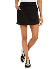 Ideology French Terry Skort, Created for Macy's