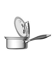 by Candace 1.5 Quart Sauce Pan with Glass Latch Lid
