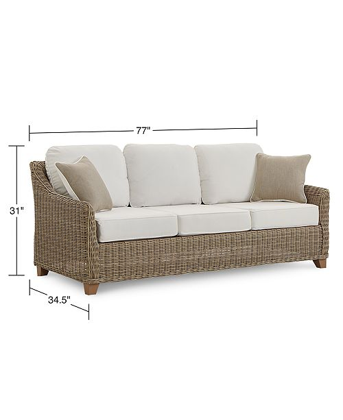 Willough Outdoor Sofa, Created for Macy\'s