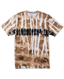 Volcom Big Boys Beater Tie-Dyed Camo T-Shirt