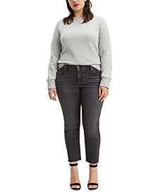 711 Plus Size Skinny Ankle Jeans