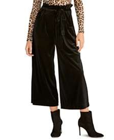 RACHEL Rachel Roy High-Waist Cropped Pants