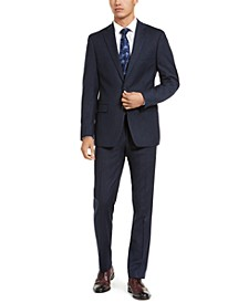 Men's X-Fit Slim-Fit Stripe Flannel Suit Separates
