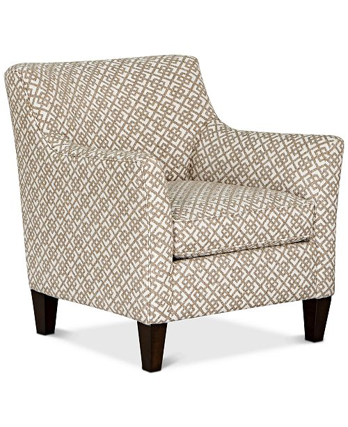 Furniture Juliam Fabric Accent Chair, Created for Macy's