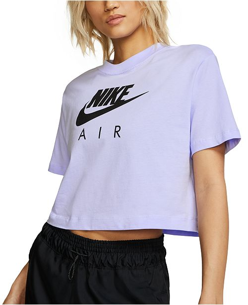 Nike Women's Air Cotton Cropped Top