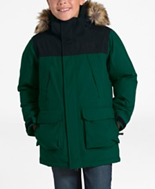 The North Face Little & Big Boys McMurdo Hooded Down Parka