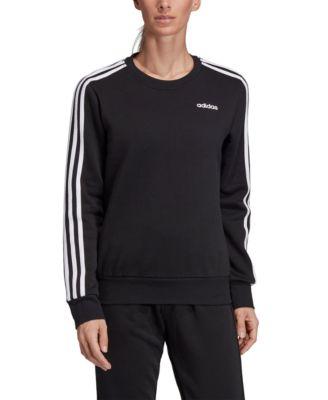 Women's Essential Fleece 3-Stripe Zip Hoodie