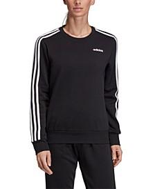Essentials Fleece 3-Stripe Sweatshirt