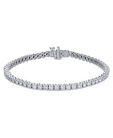 Certified Diamond Tennis Bracelet (3 ct. t.w.) in 14k White Gold