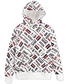 Big Boys Fleece Logo Hoodie