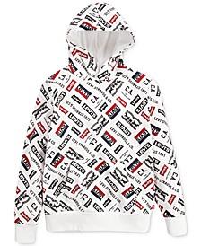 Big Boys Fleece Logo Hoodie