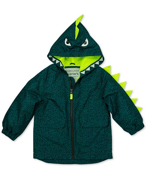 Carter's Toddler Boys Dinosaur Rain Coat
