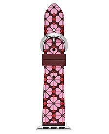 Women's Interchangeable Floral Silicone Apple Watch Strap 38mm/40mm