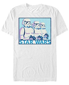 Men's Classic Stormtroopers In Line Short Sleeve T-Shirt