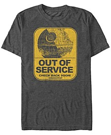 Men's Classic Death Star Out of Service Short Sleeve T-Shirt