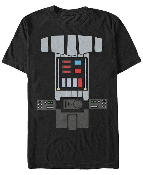 Star Wars Men's Classic Darth Vader Costume Short Sleeve T-Shirt